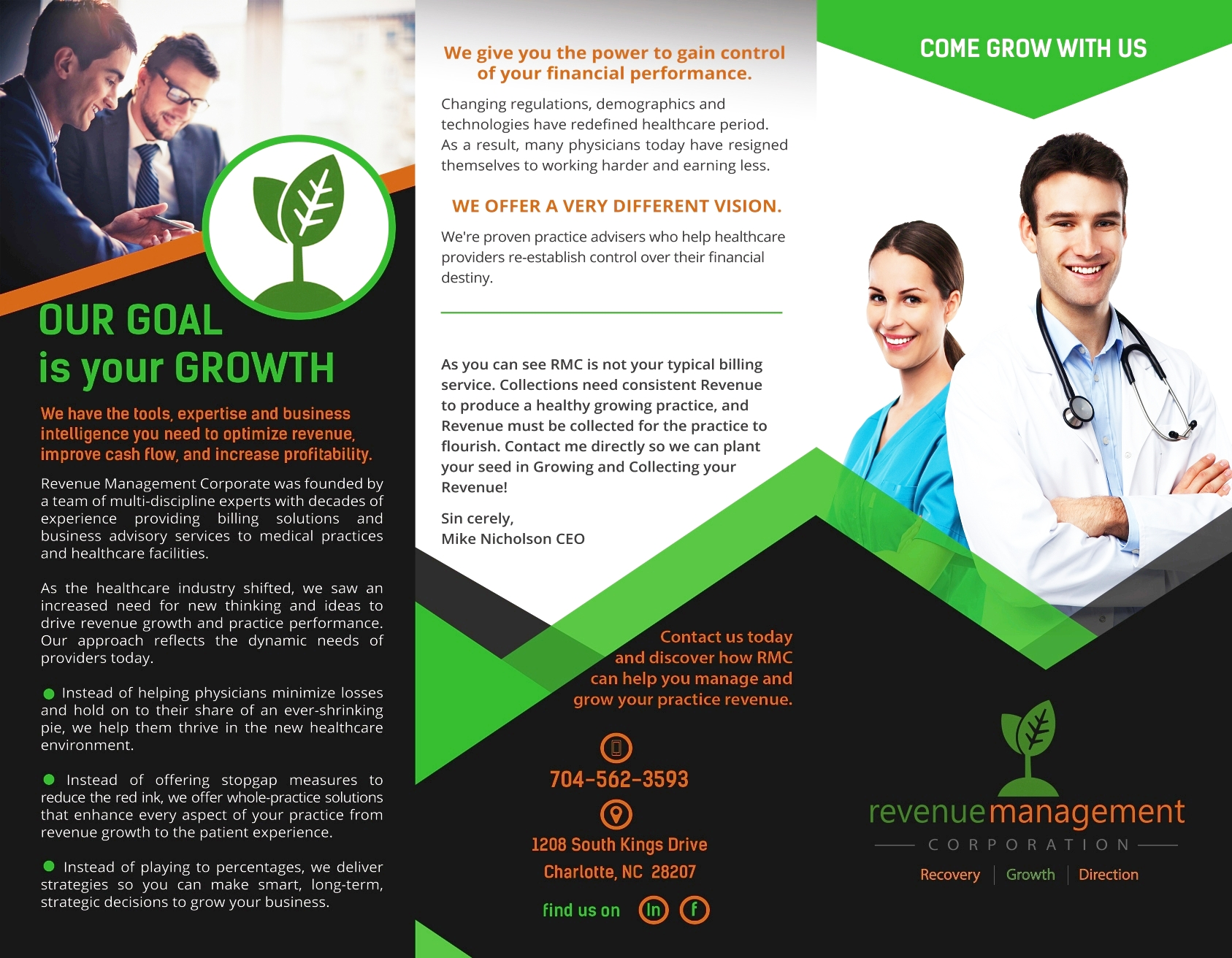 Come GrowWith Us - We have the tools, expertise and business intelligence you need to optimize revenue, improve cash flow and increase profitability. Contact Us Today.