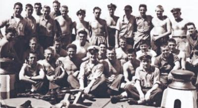 Some Crew Members of the USS Arizona