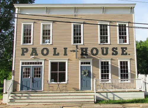 The Paoli House's present exterior