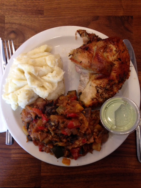 """""""Shhh...Poulette's chicken is (almost) as good as the Chef's..."""""""