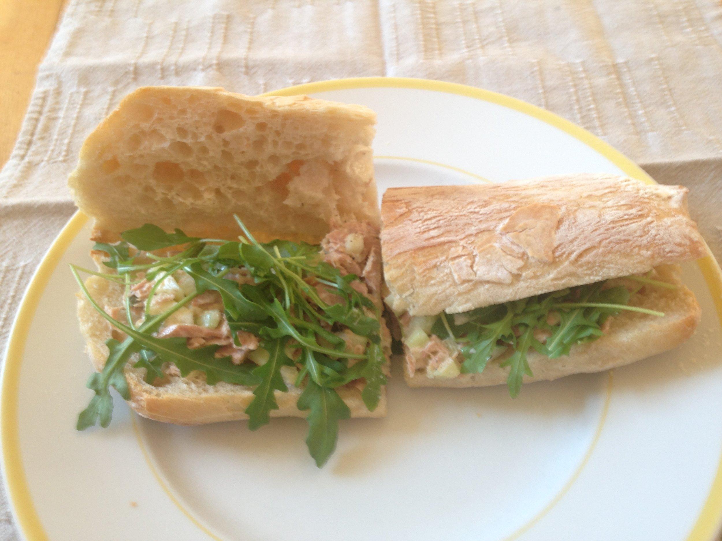 Current day bread choice: ciabatta