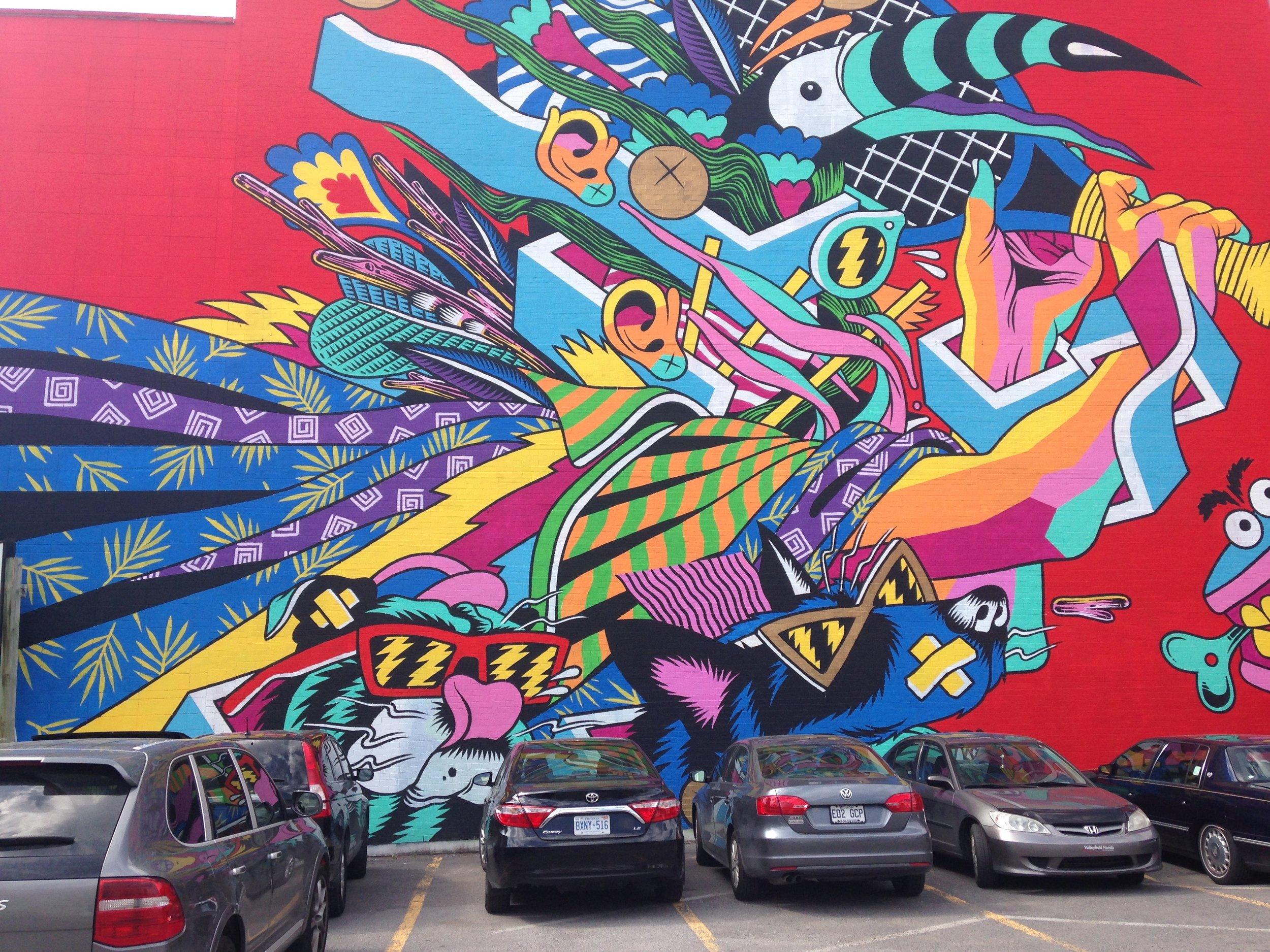 Murals of Montreal