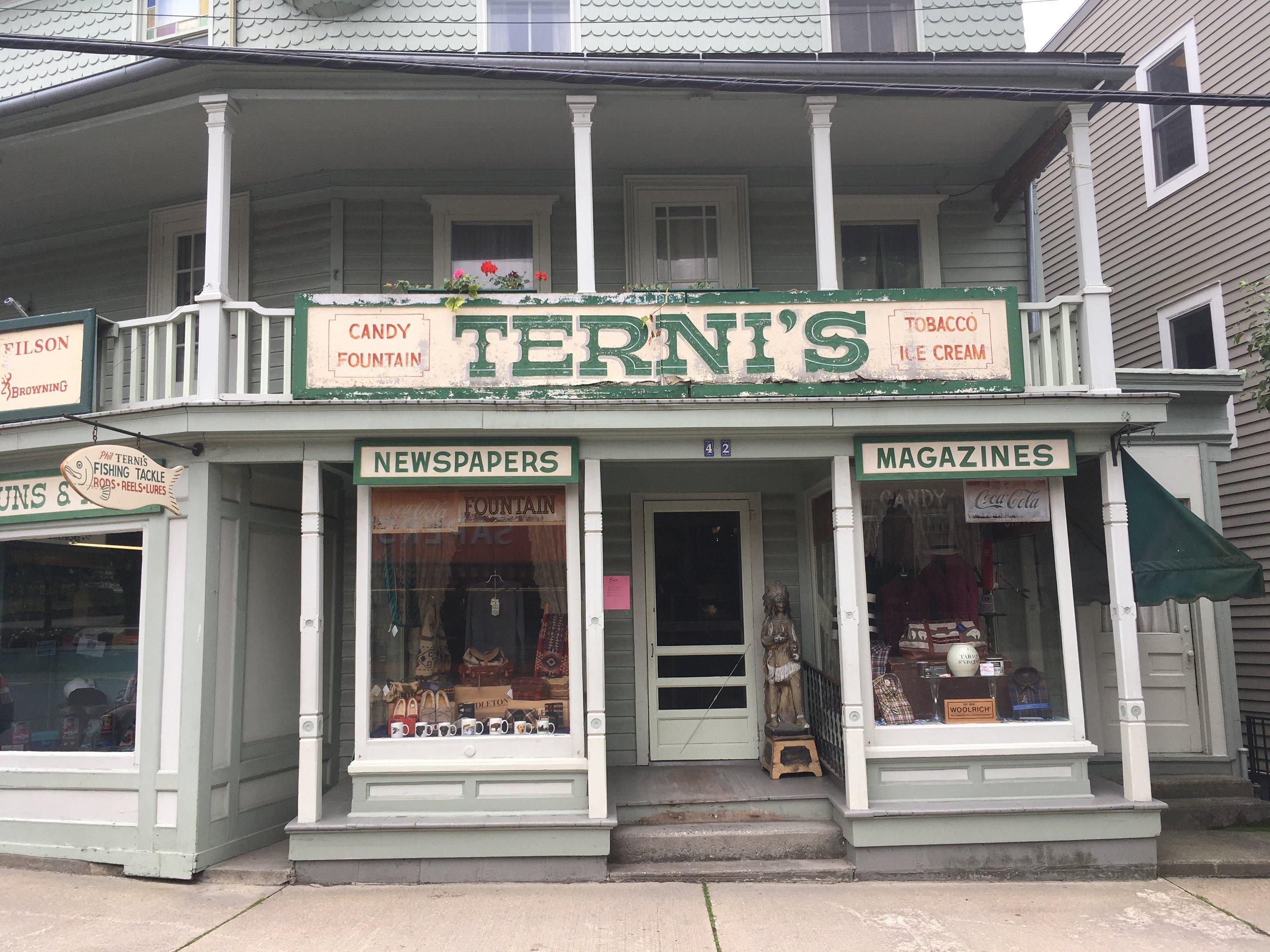 Terni's--where to buy Pendletons