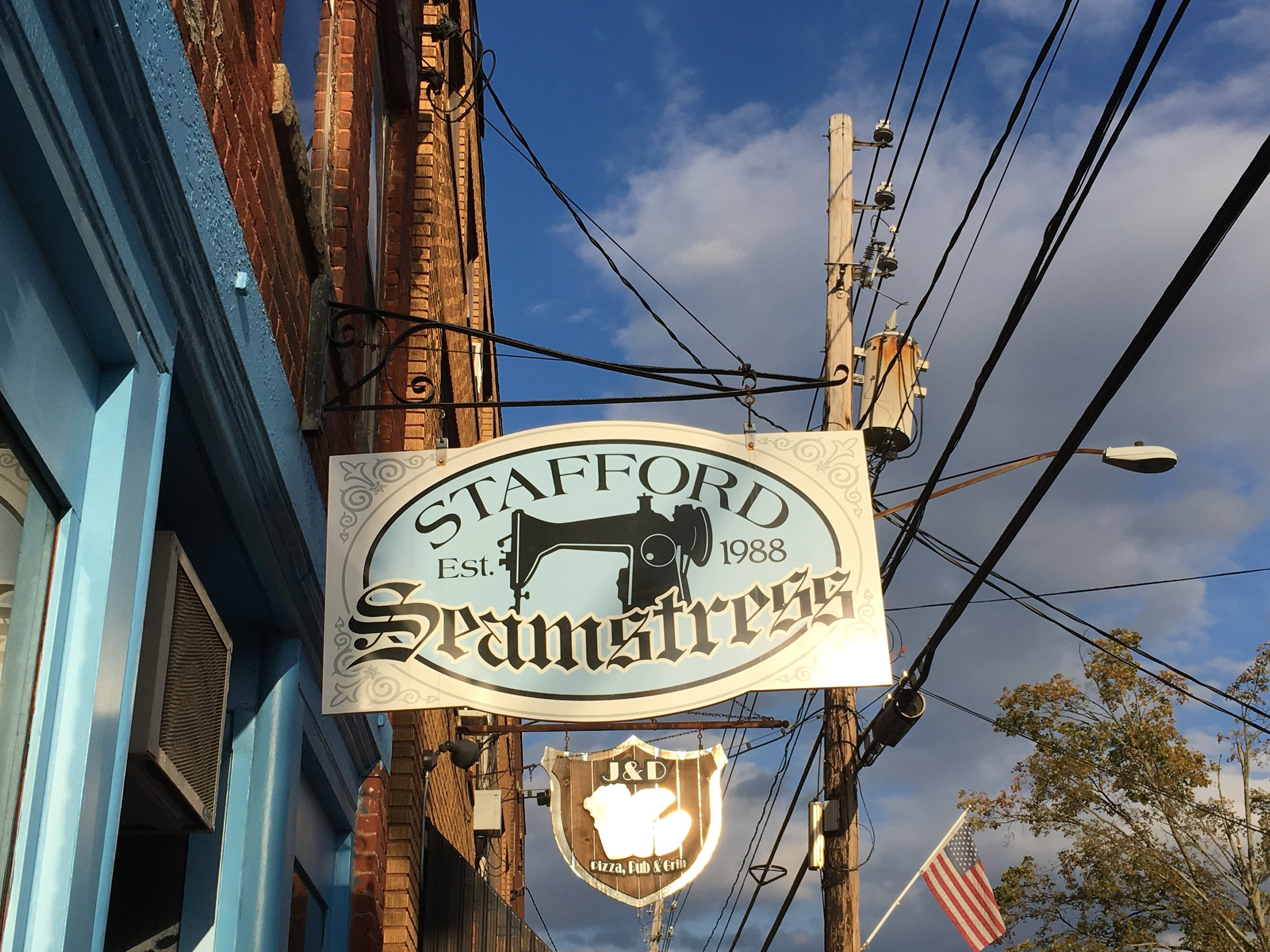 Great Stafford Springs Signage