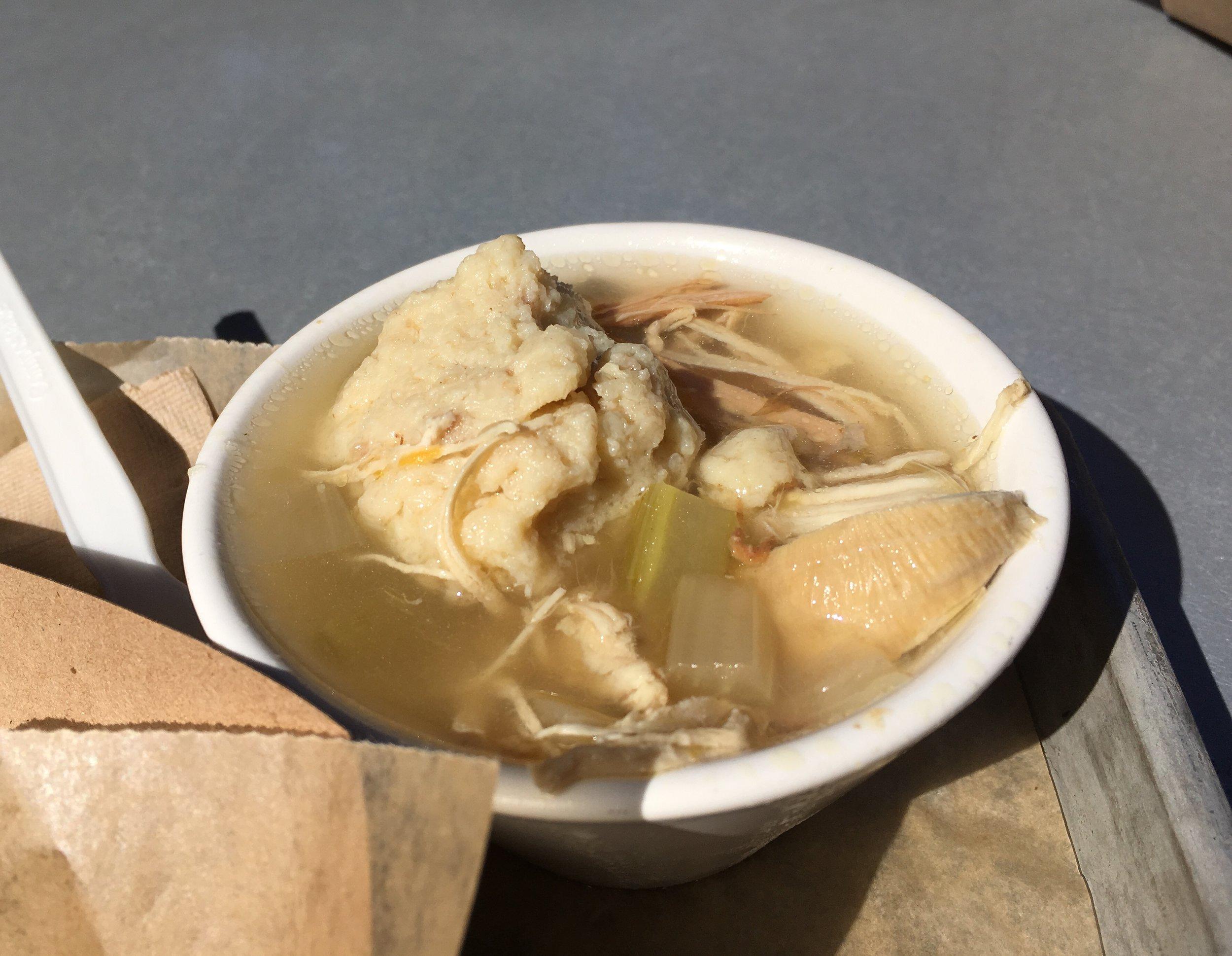 Alotta Ball (matzoh) in a little bowl