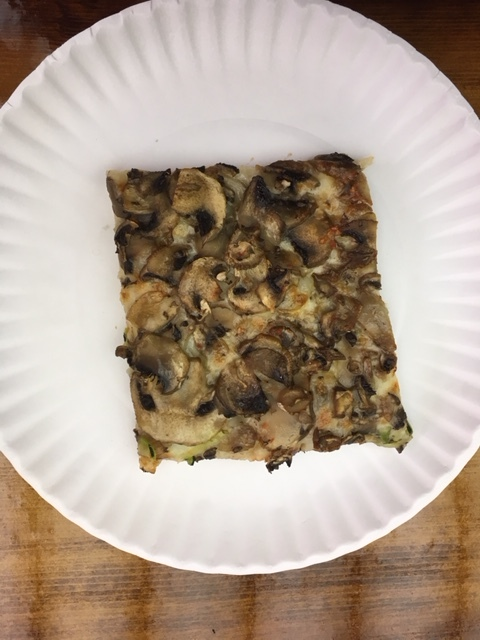 Mushroom with truffle oil