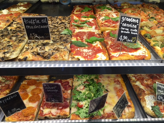 More choices of excellent Roman pizza