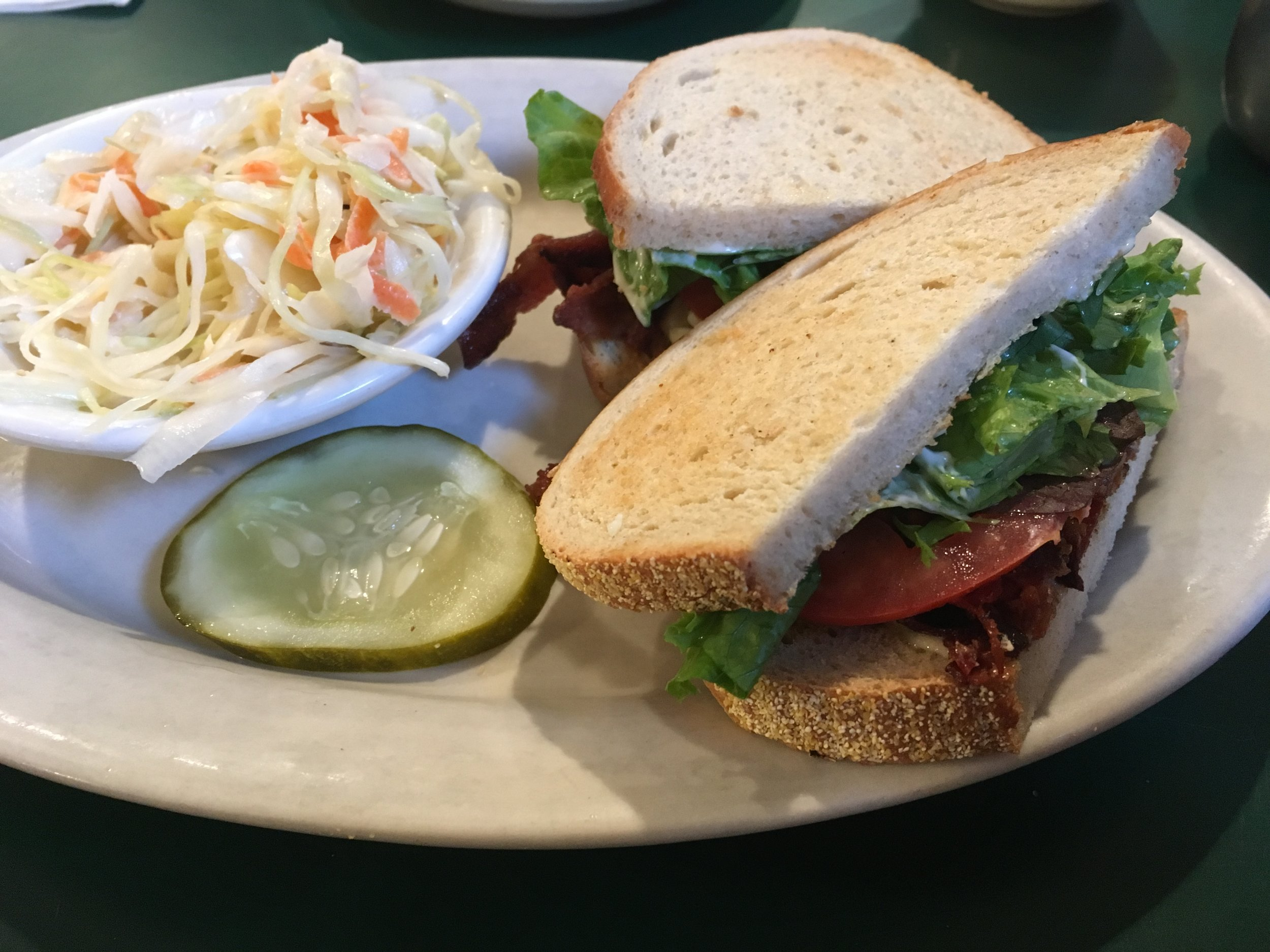 Can't go wrong with their BLT