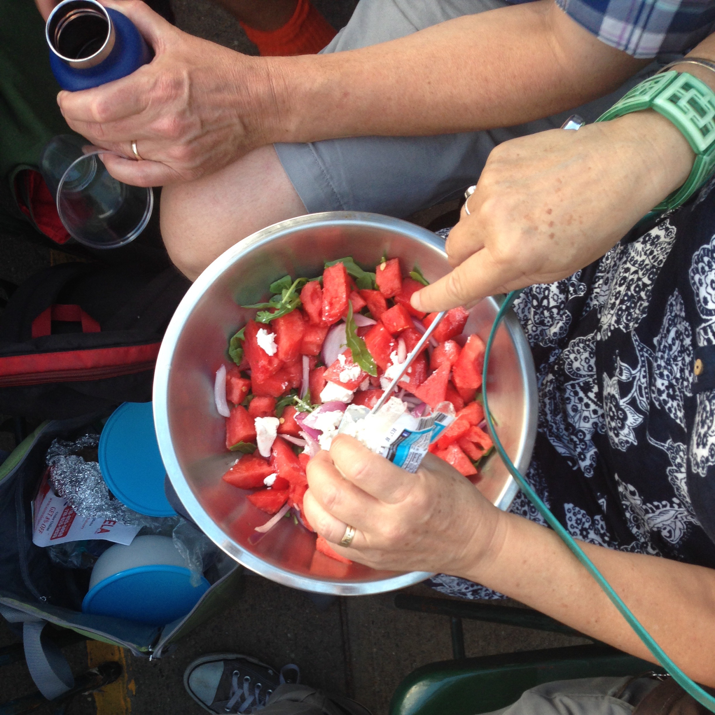 The magic act of the picnic salad