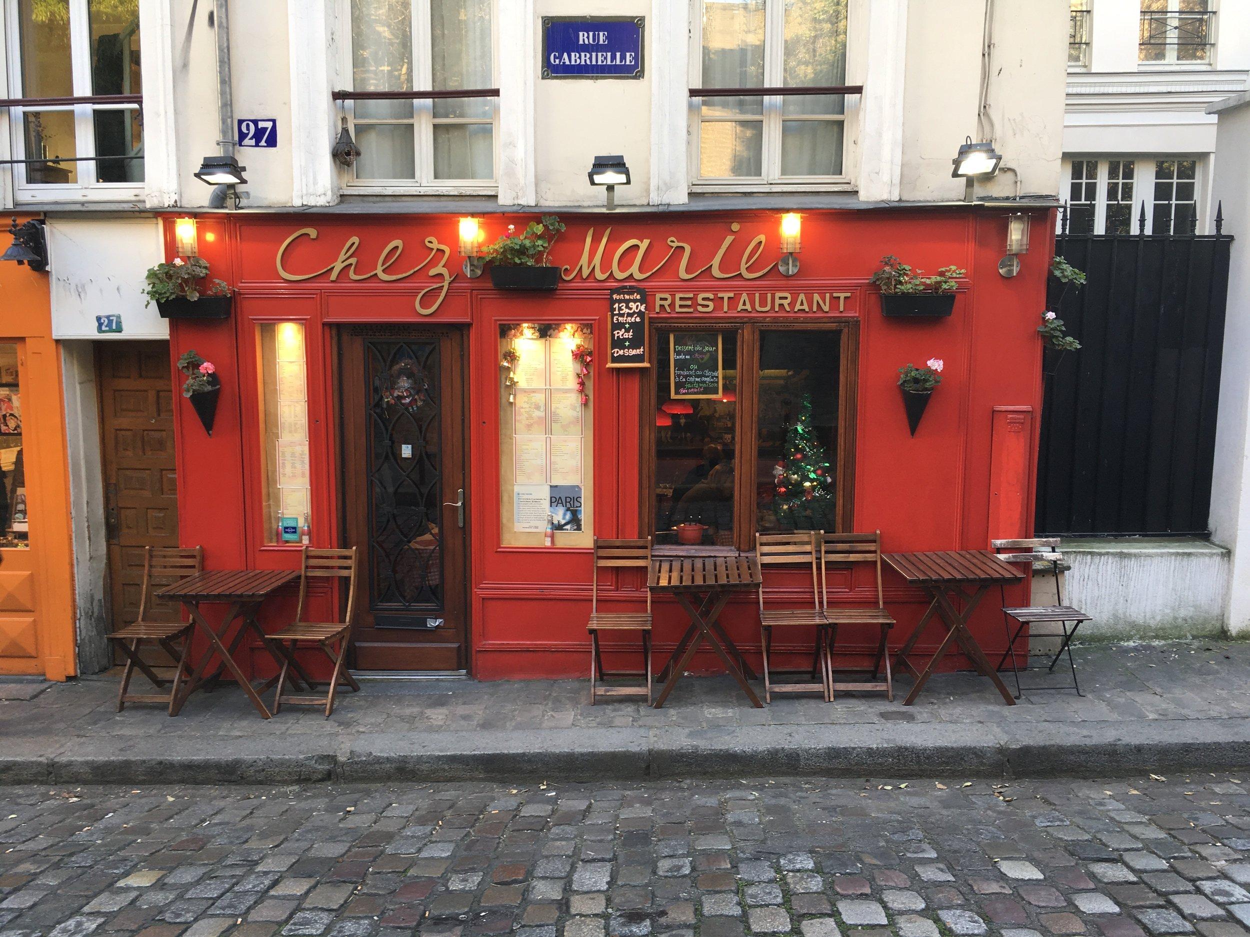 Paree in Paris (Montmartre)