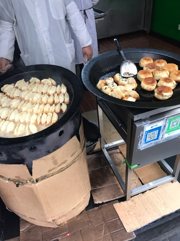 Dumplings and fried bao