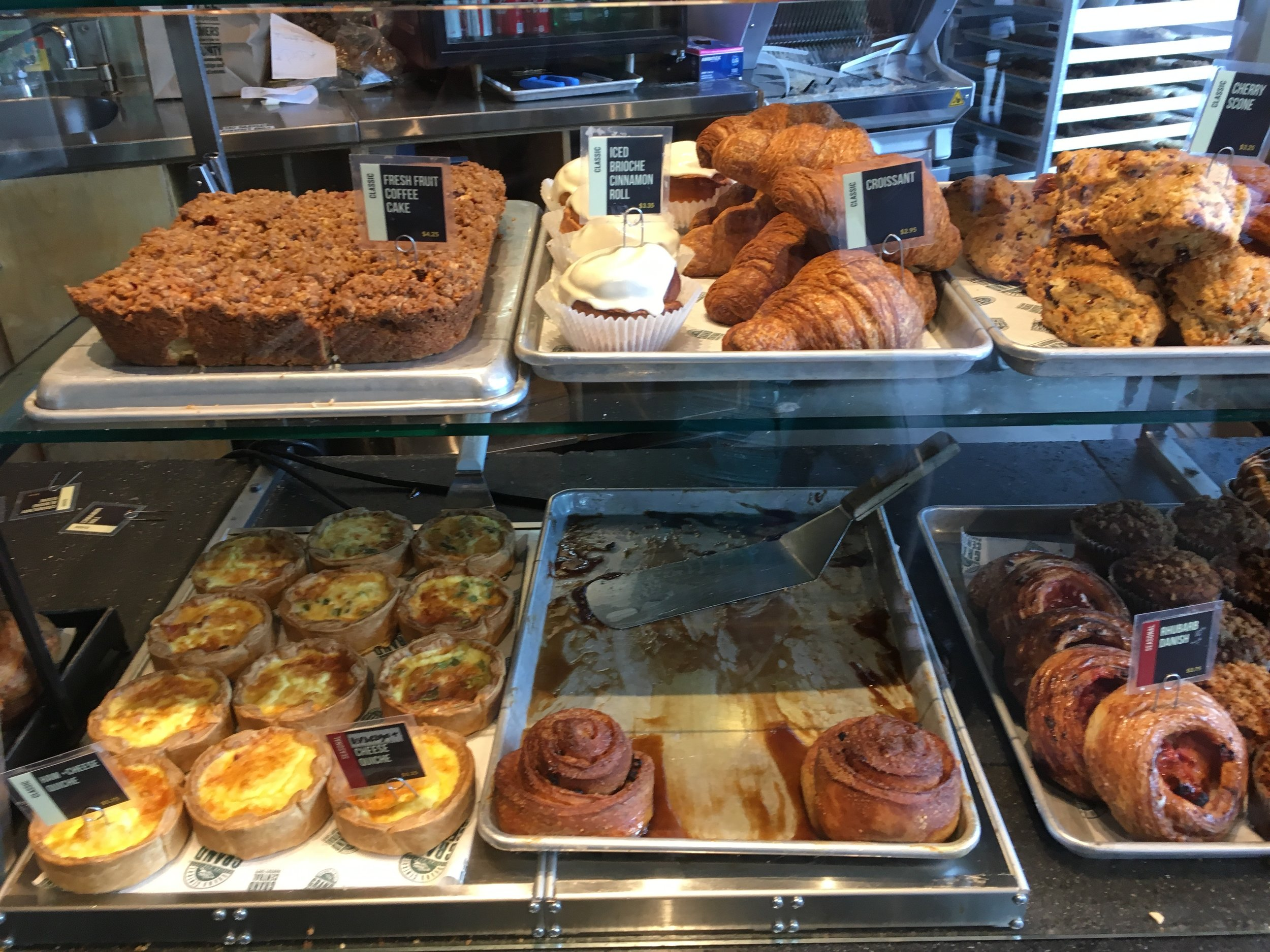 Grand Central Bakery offerings