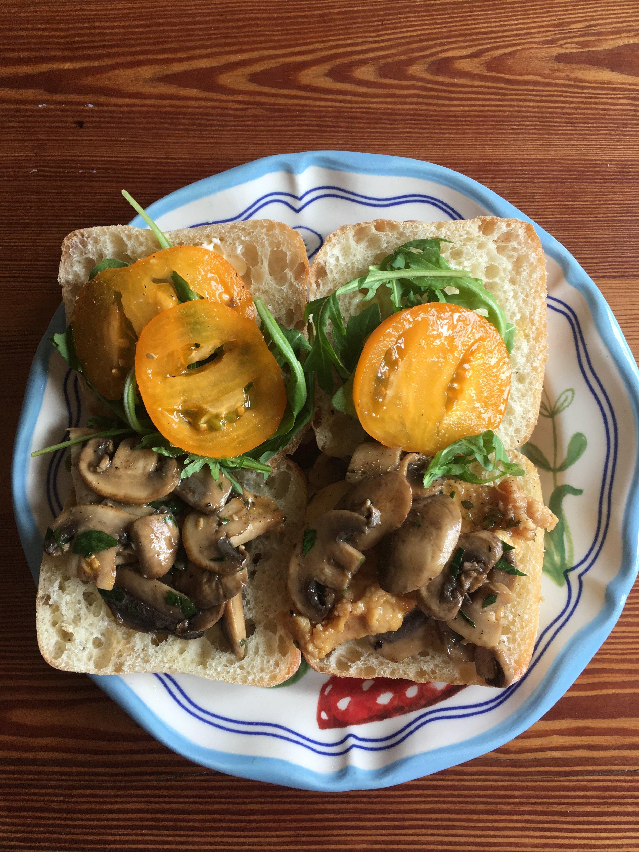 Pollo al limone in sandwich