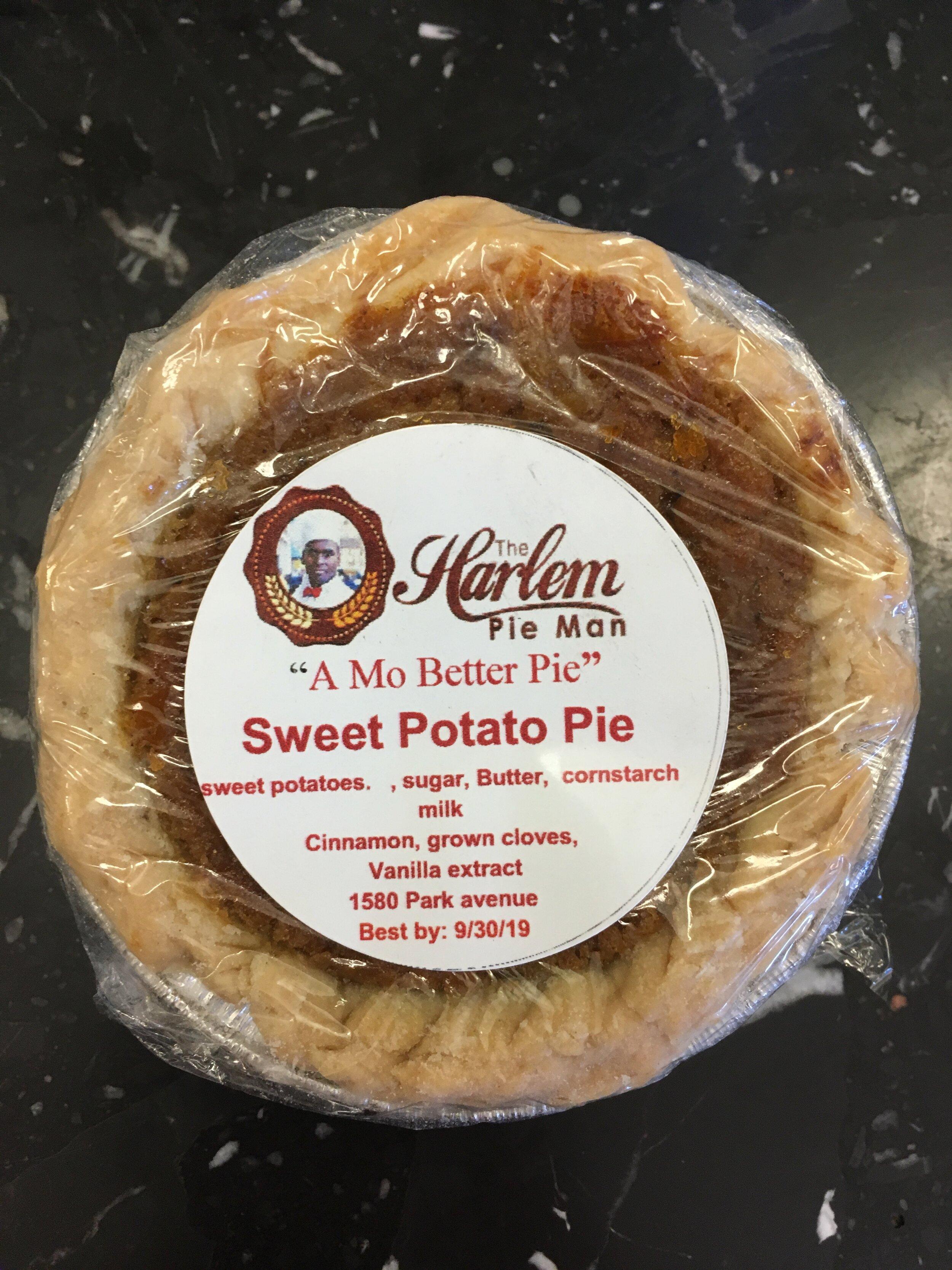 Sweet or savory? Sweet potato pie