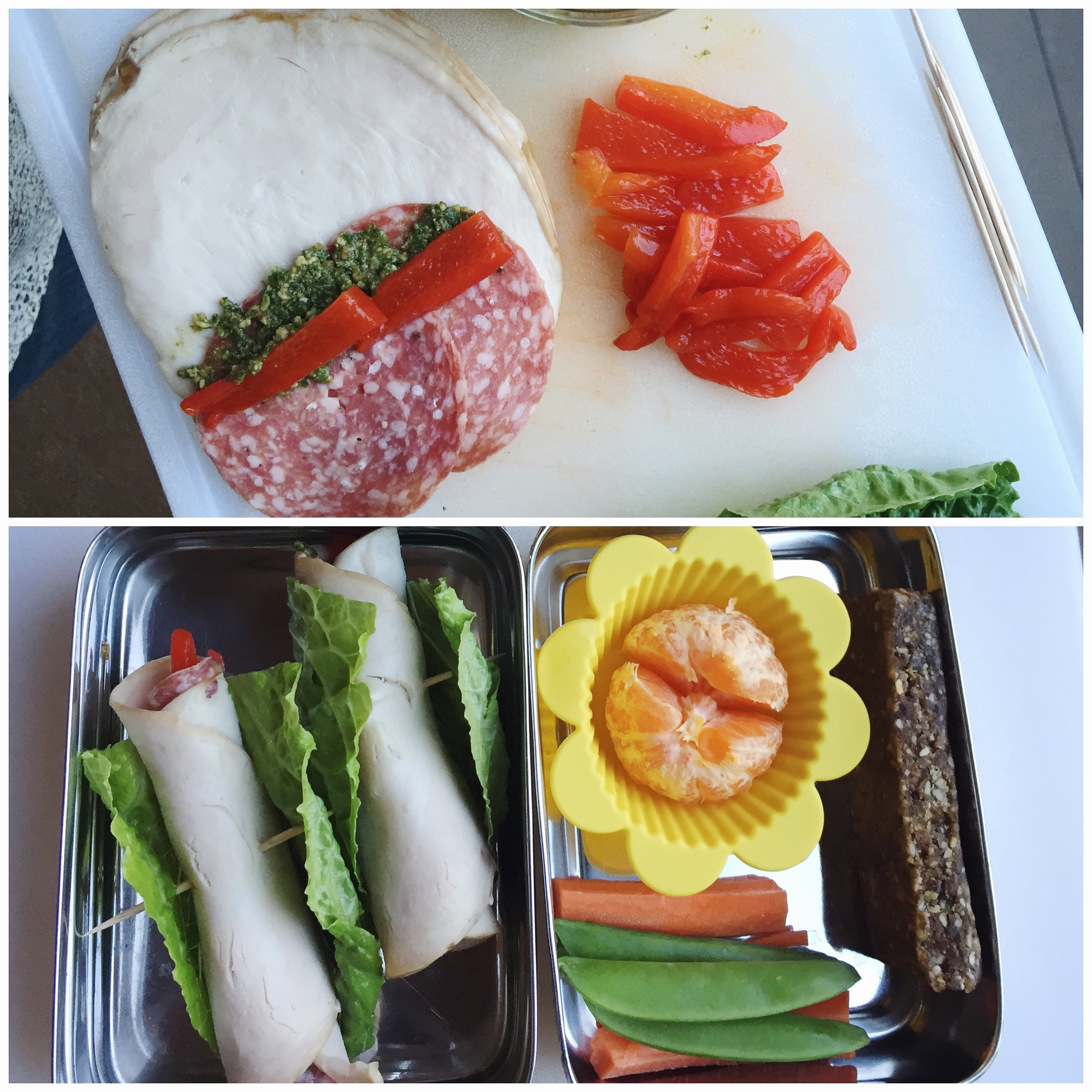 Nuncio Nutrition Lunches - Tuscan Wraps