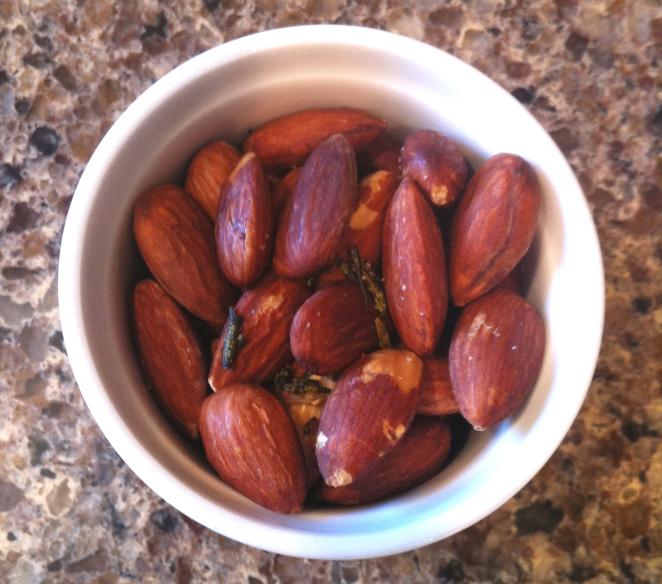rosemary almonds