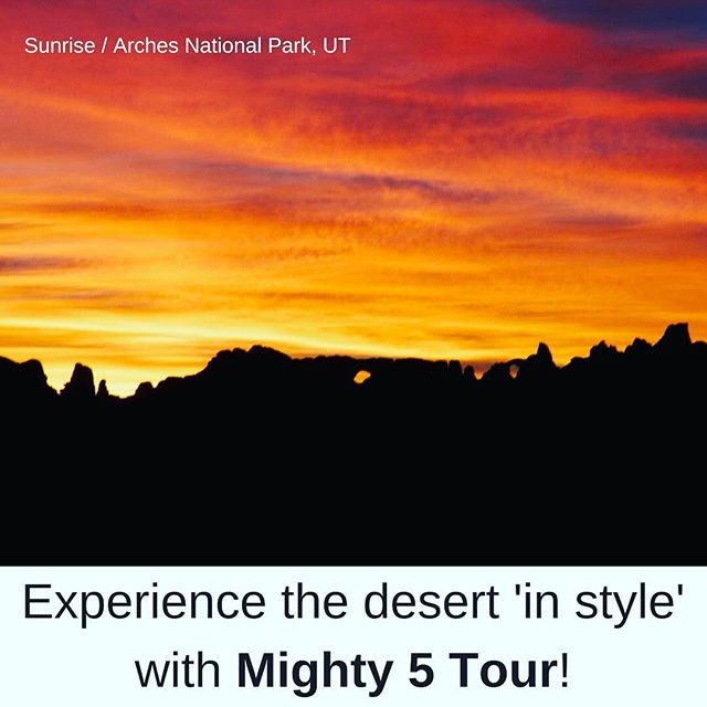 What are you waiting for? Book your trip to the dessert today! http://www.mighty5tour.com/