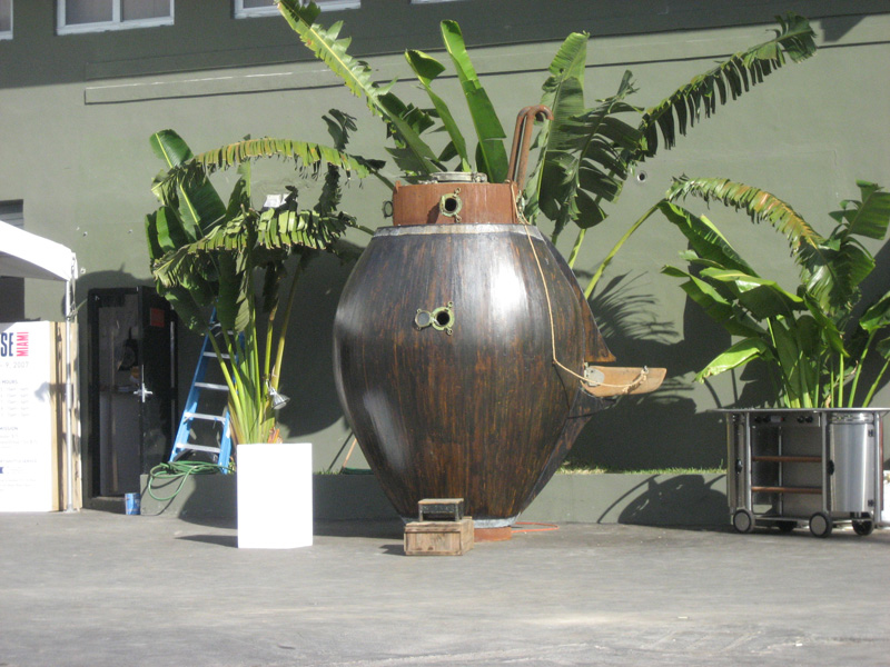 The Acorn 2, Installed at Pulse Miami, December 2007