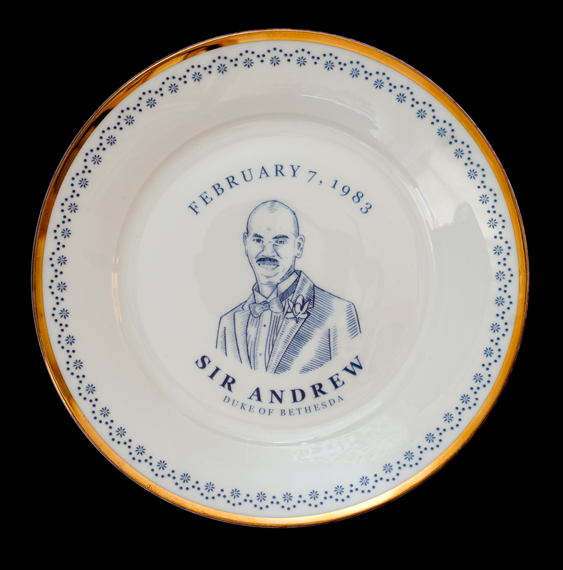 Sir Andrew, Duke of Bethesda, Laird Royal Family Commemorative Plate Series, 2010.