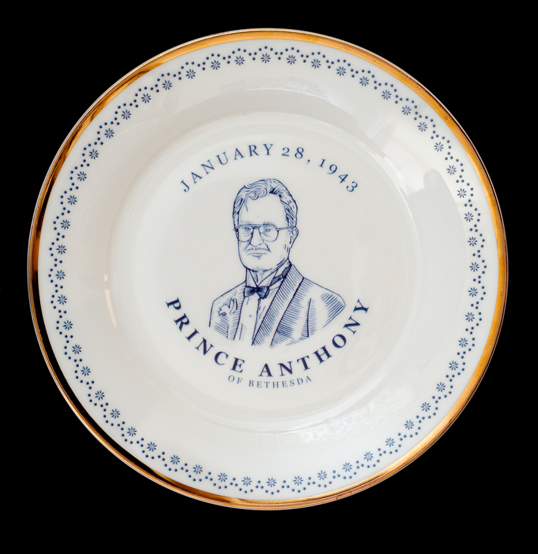 Prince Anthony of Bethesda, Laird Royal Family Commemorative Plate Series, 2010.