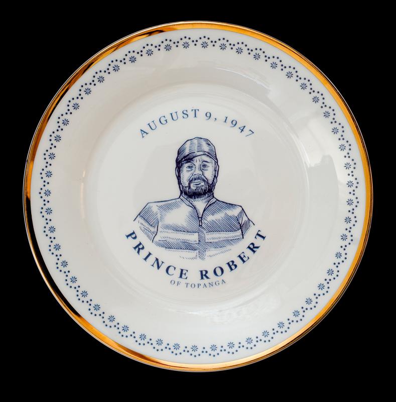 Prince Robert Topanga, Laird Royal Family Commemorative Plate Series, 2010.