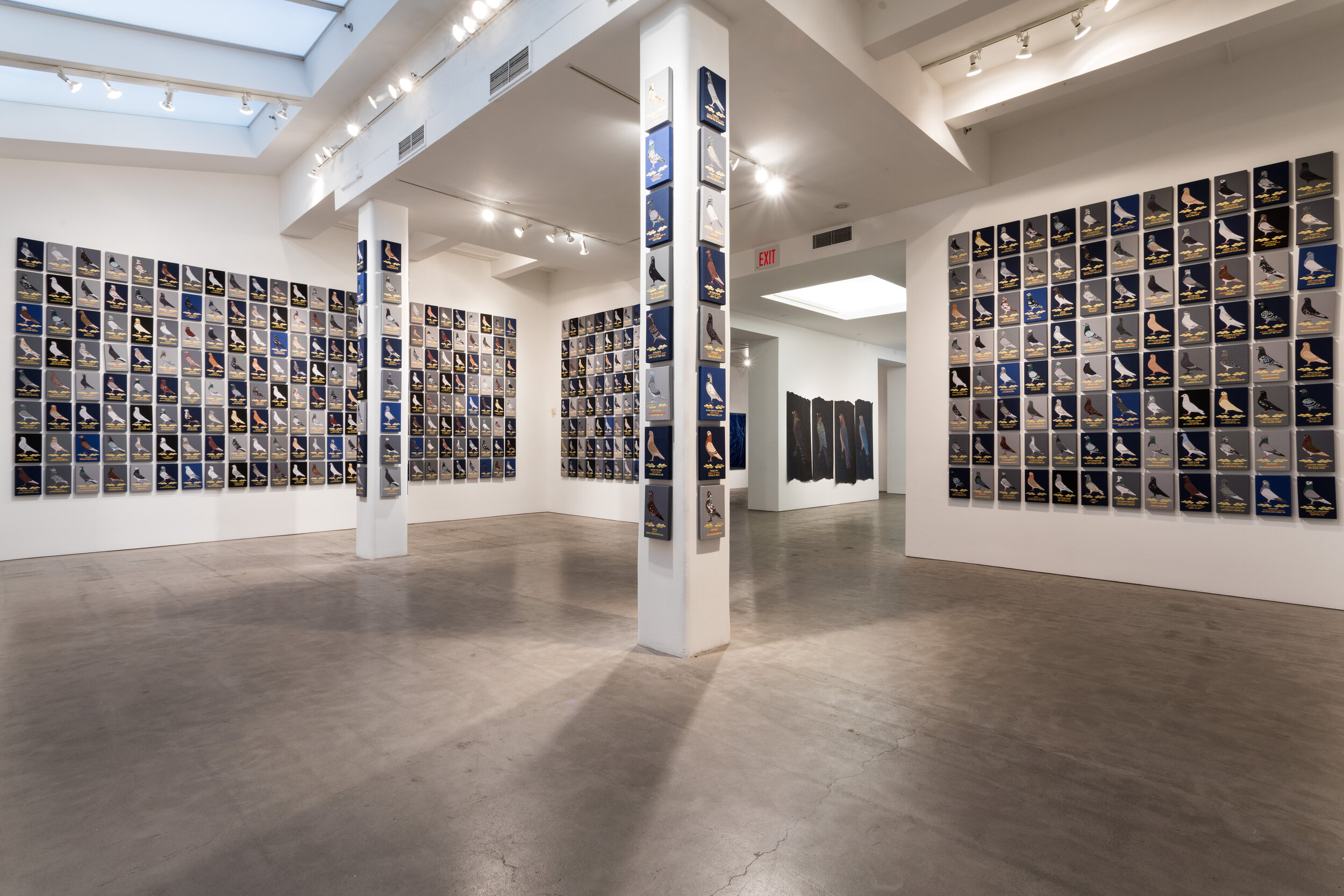 The Army of the Night (Installation View), 2017