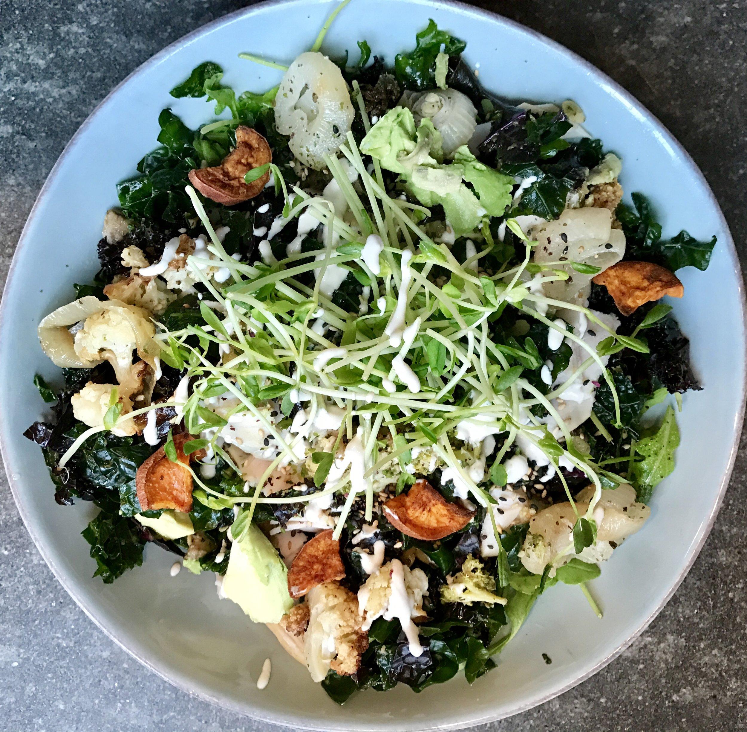 summer arugula and roasted vegetable salad.jpg