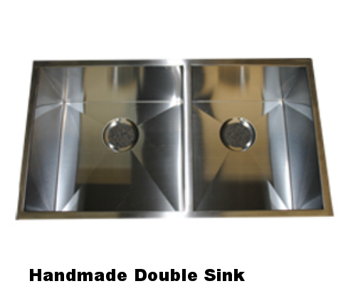 Handmade Double Sink