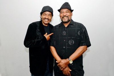 "GRAMMY Award nominee Bobby Rush (left) and James ""Super Chikan"" Johnson will be featured in a free concert at the Bologna Performing Arts Center on Oct. 6 at 7 p.m."