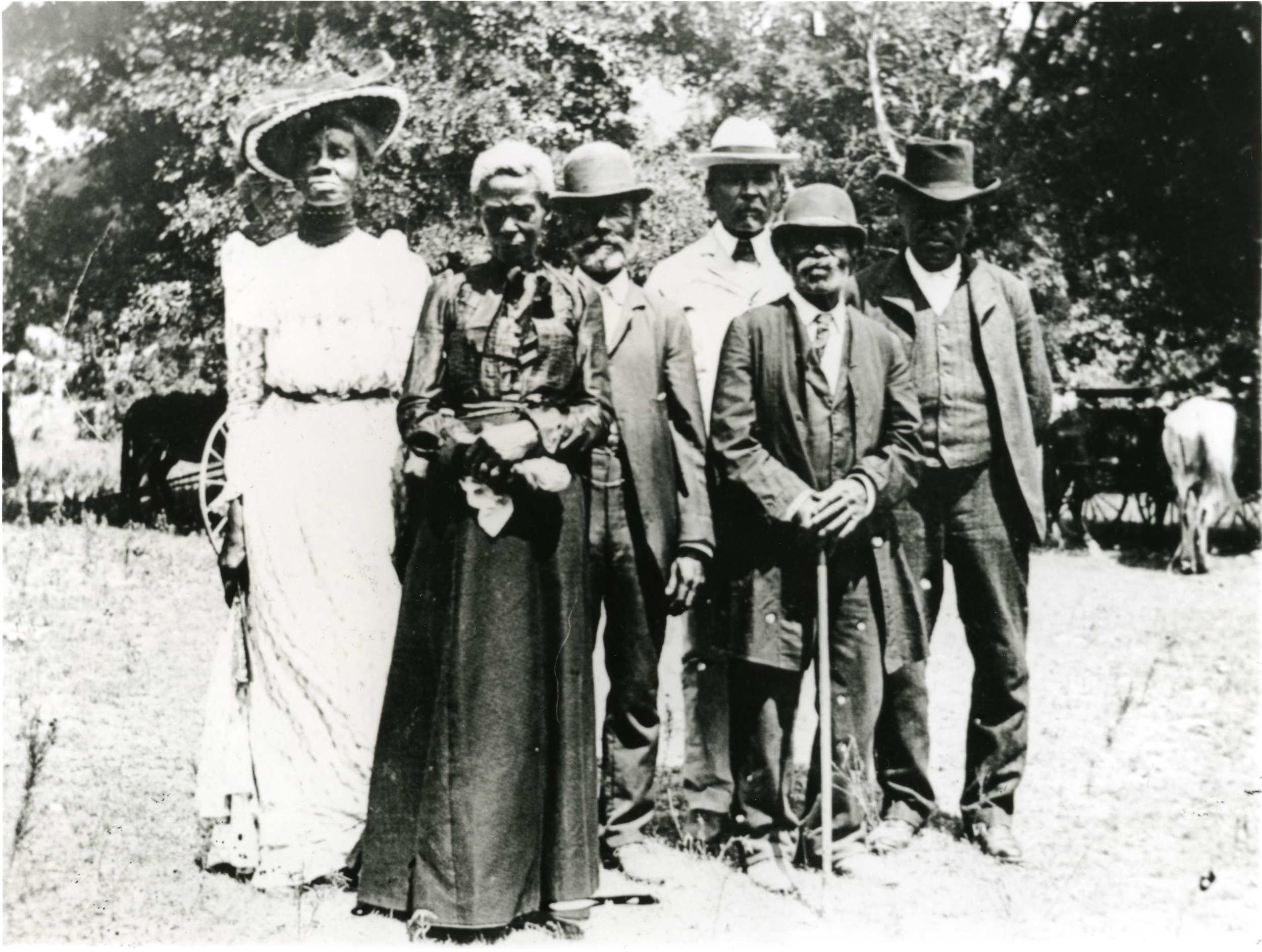 This photo, taken in Austin in 1900, is from a Smithsonian magazine article on early celebrations of Juneteenth.  http://www.smithsonianmag.com/smithsonian-institution/juneteenth-a-new-birth-of-freedom-9572263/?no-ist