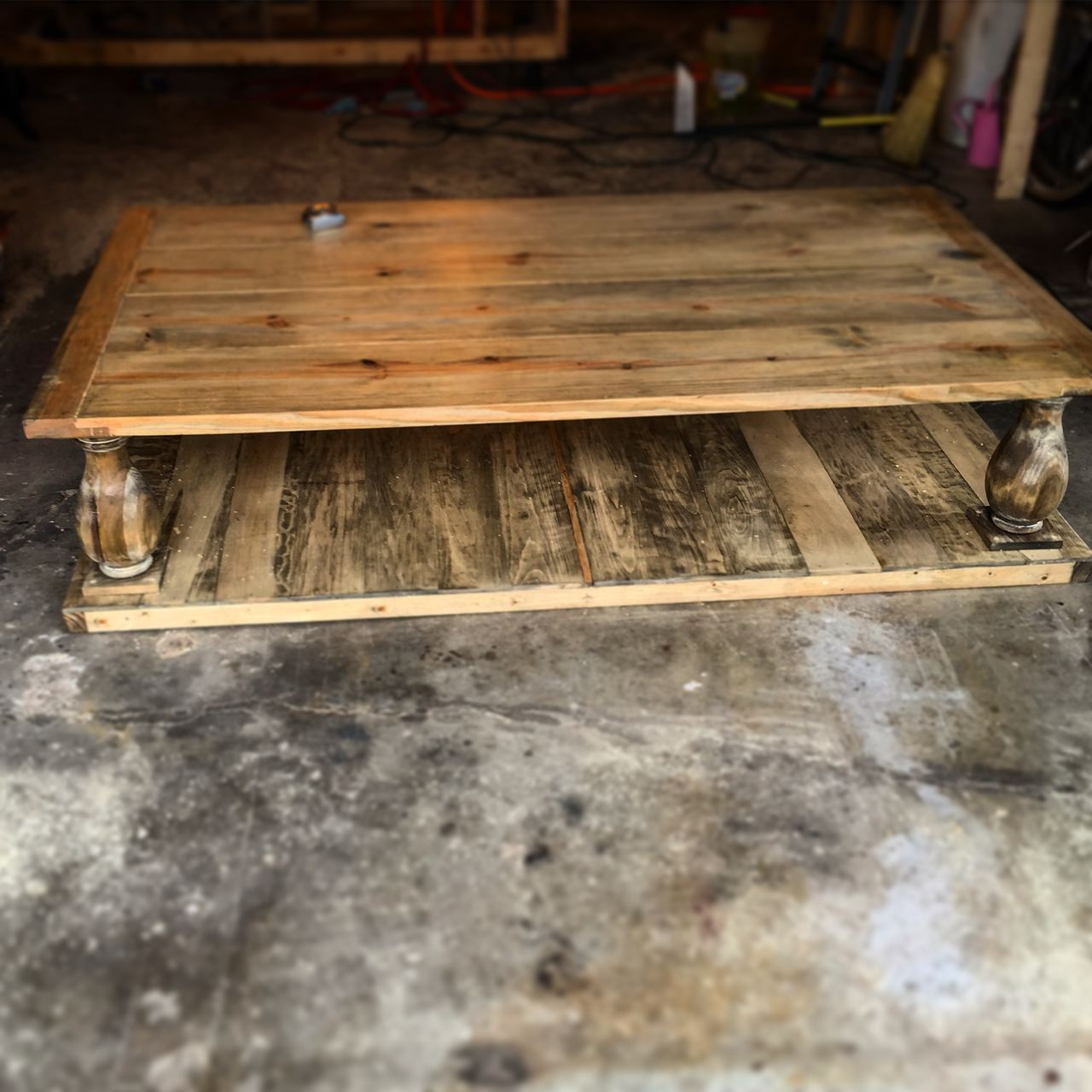 The finished coffee table.Photo courtesy of AnSquared.