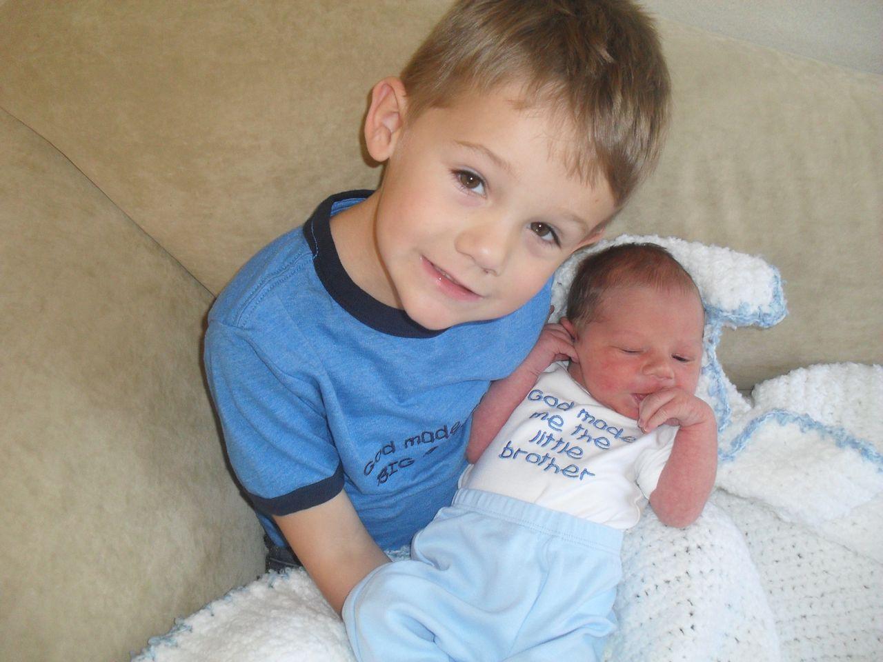 Kaden and Eli...Eli's birth