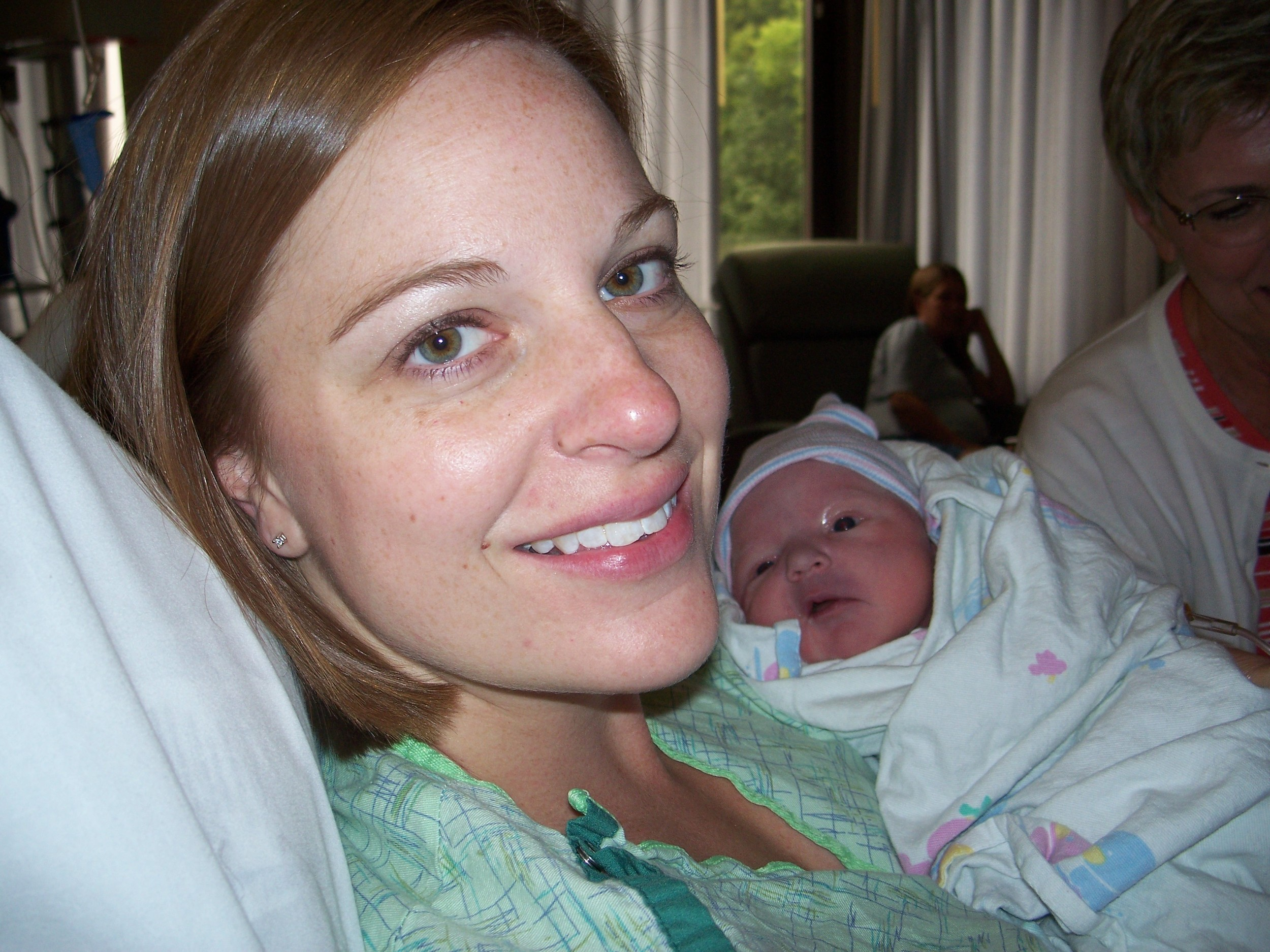 Cortney with Carter 2008