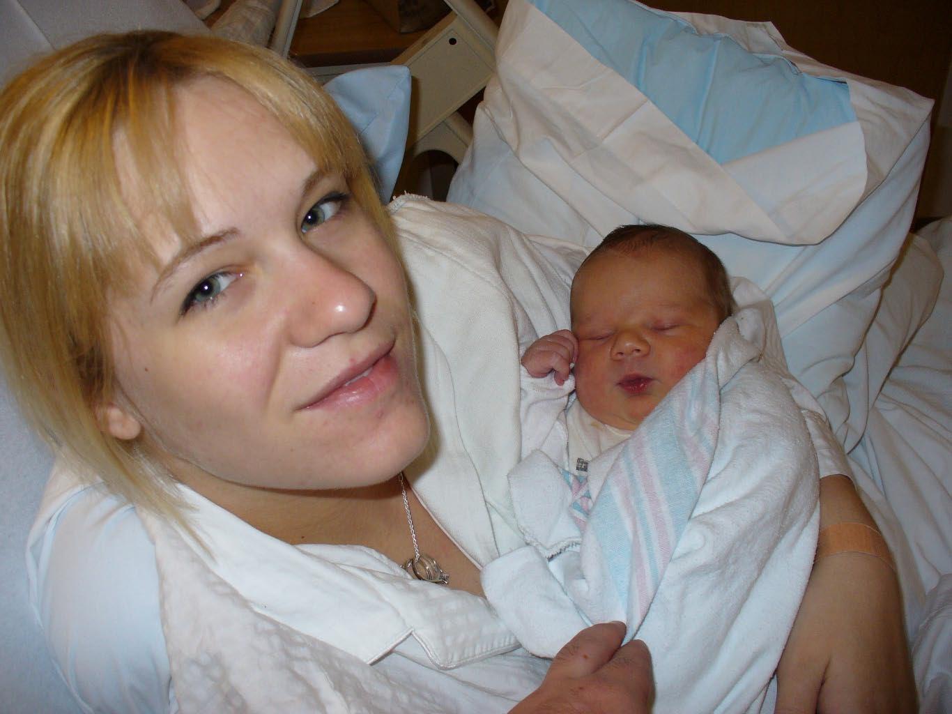 Beth with Kaden 2006