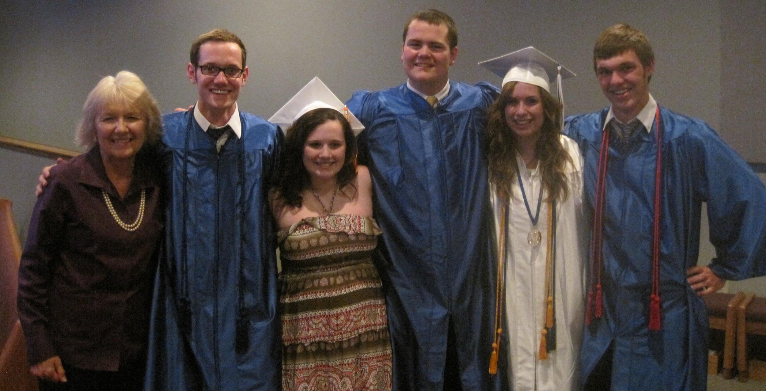 PK HS graduation 2011