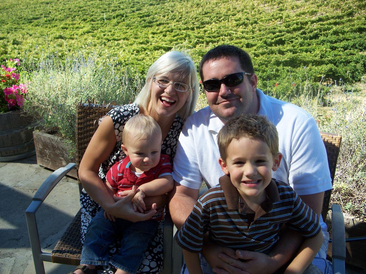 Beth, Nate, Kaden & Eli...temecula 11/11