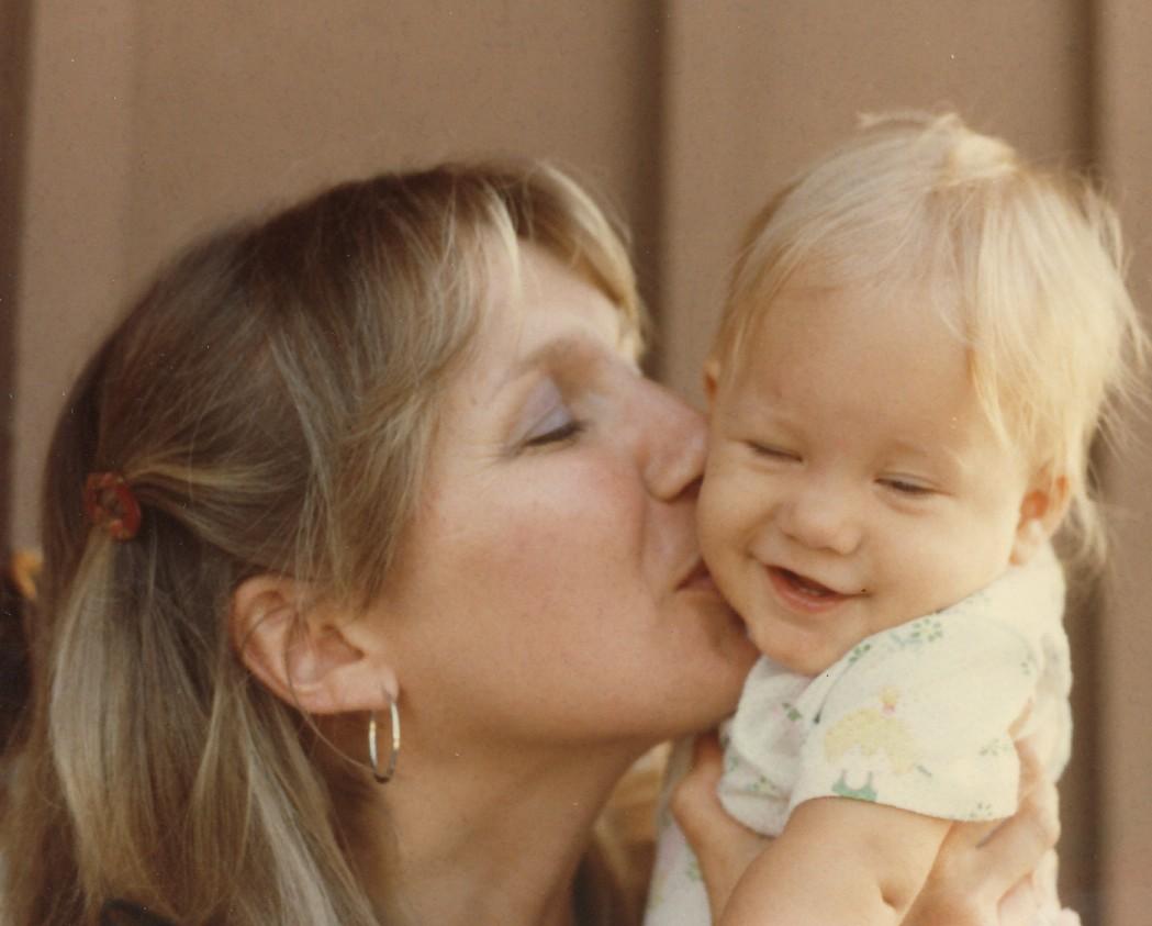 baby Beth & me