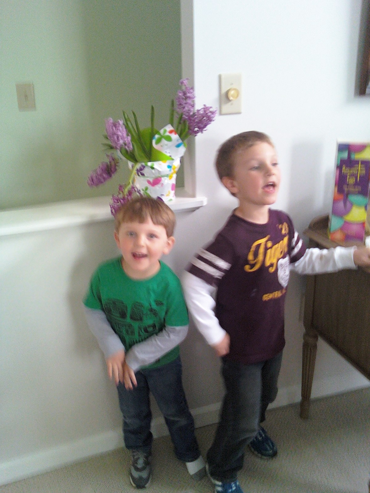 o happy day...evan & carter
