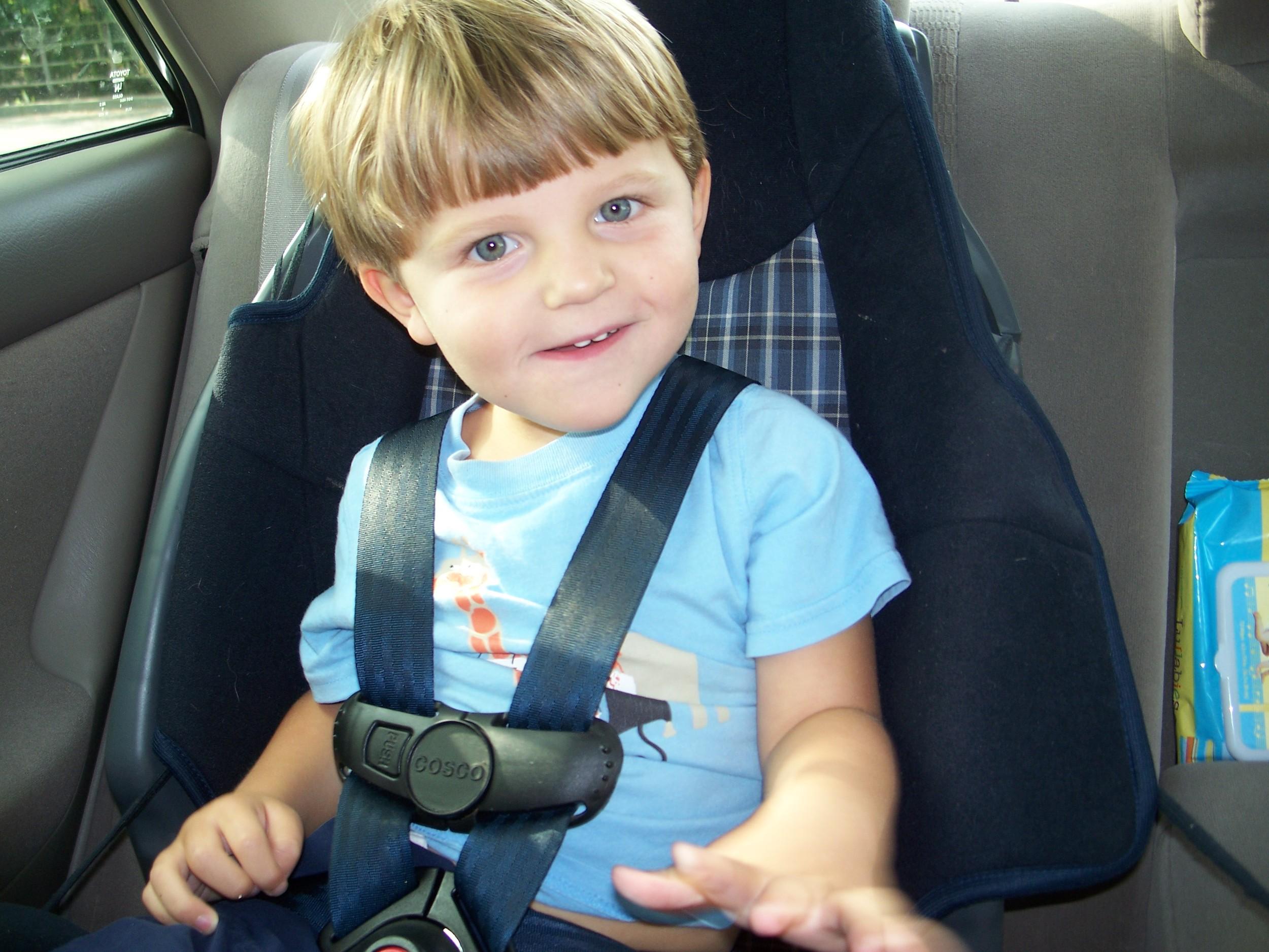 Carter in car