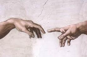Michelangelo's Adam