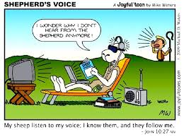 hearing the shepherd