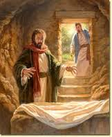 Empty tomb, peter