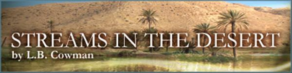 Streams In Desert
