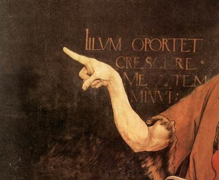 john the baptist pointing