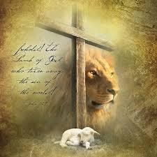 Lamg of God & cross