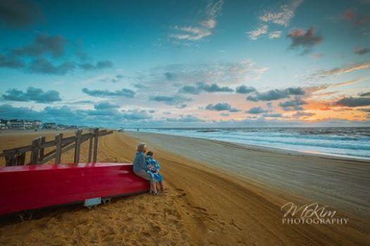 Bill Mckim sunrise with kaden