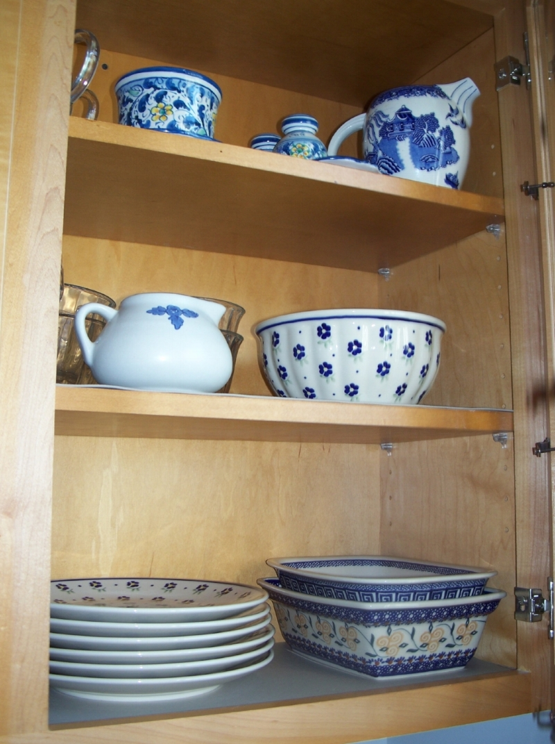my pantry, dishes
