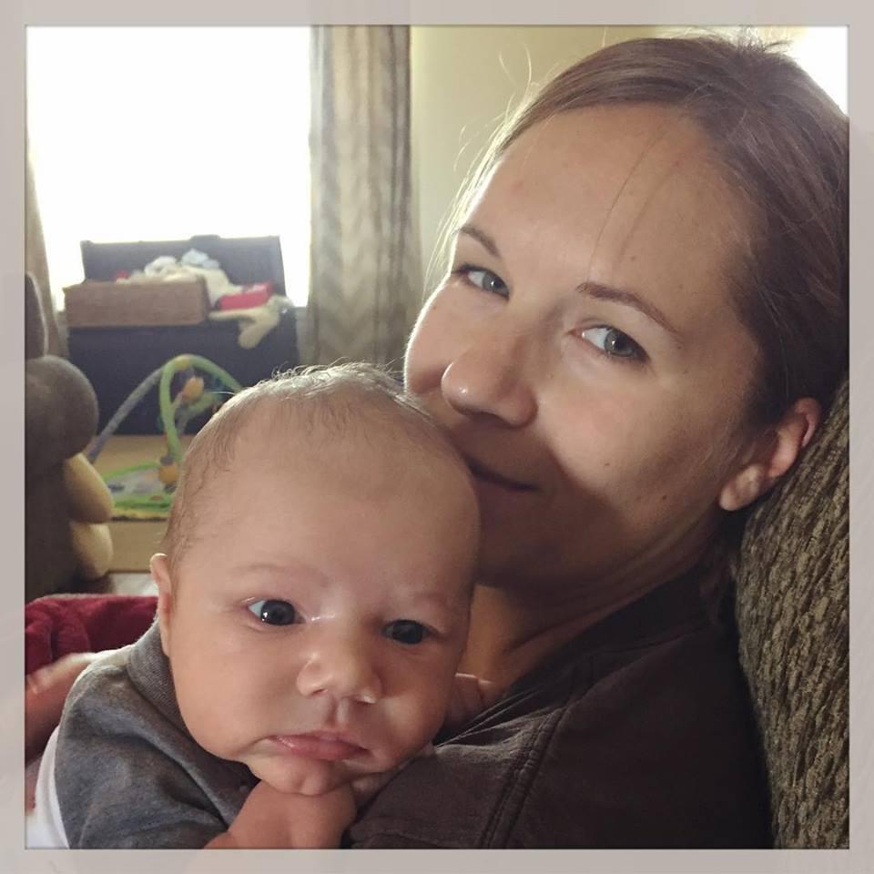 Beth with William 2015