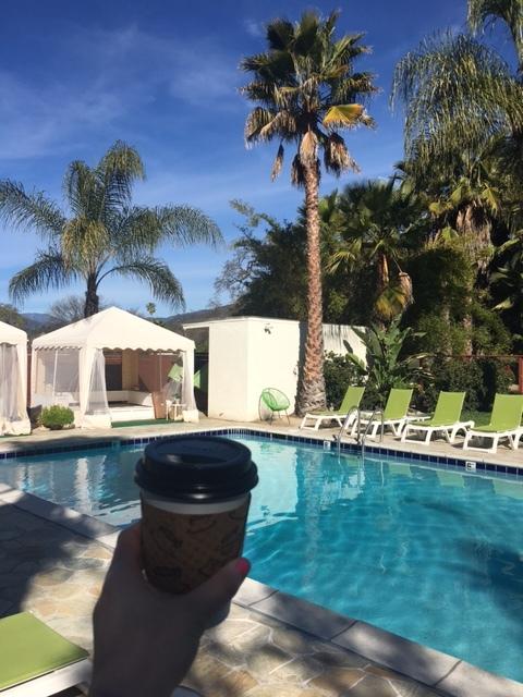 Poolside at The Capri Hotel