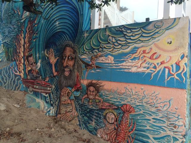 Street art in Laguna Beach
